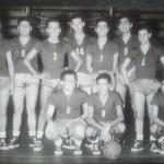 Alfredo Bobbio con il numero 12 nella Partenope del 1953-54
