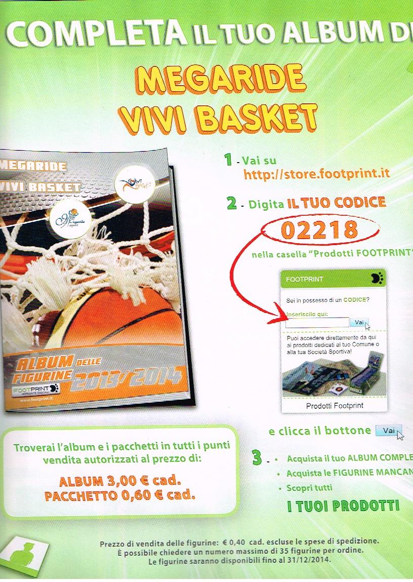 L'Album delle figurine del Progetto Vivi Basket