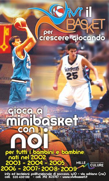 Mini Basket al via, Per crescere giocando con Vivi Basket!