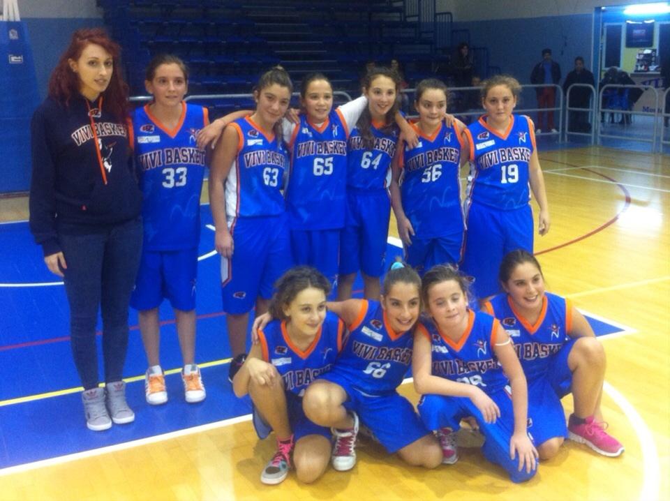 Under 13 Femminile: Pall. Pozzuoli – VIVI BASKET Napoli 41-26
