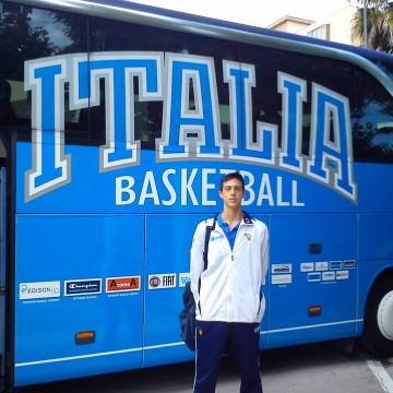 Nazionale Under 16: arriva la convocazione per Alessandro Morgillo
