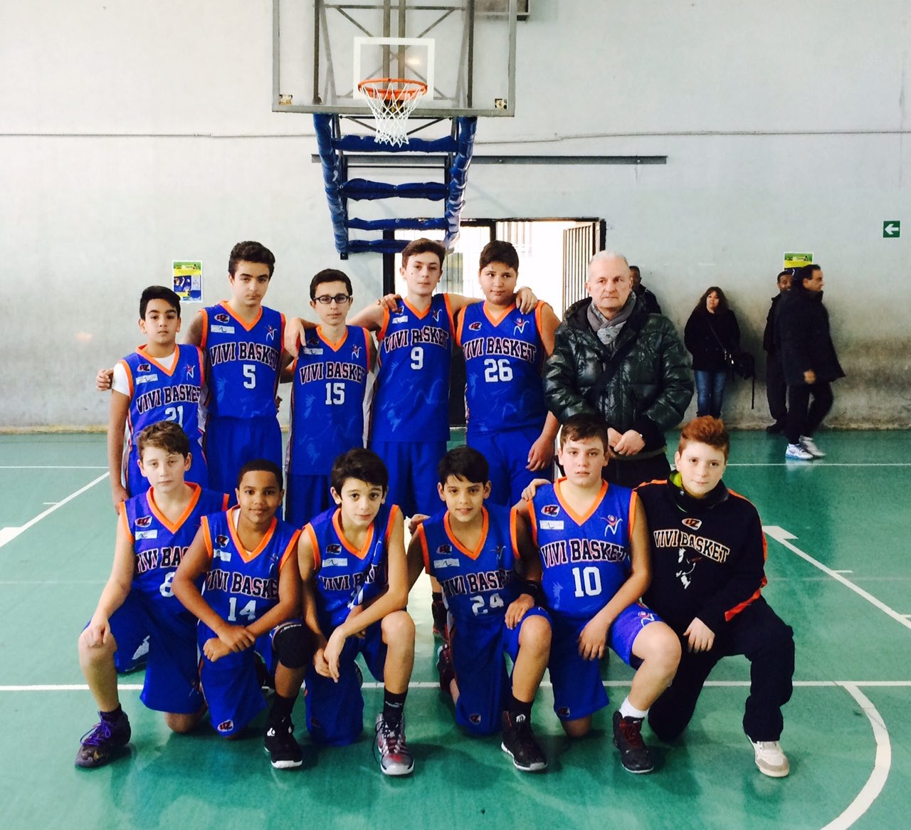 Under 13 Elite: Vivi Basket grande difesa con Monte di Procida