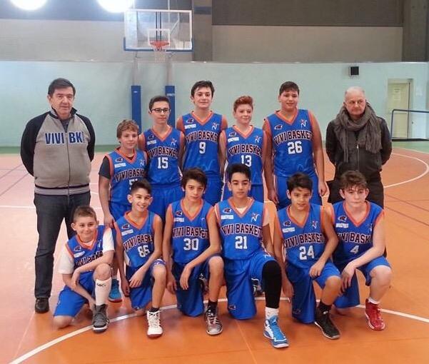 Under 13 Elite: Vivi Basket alla quarta vittoria consecutiva