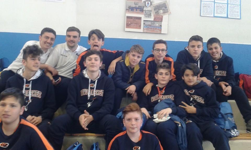 Trofeo Garbosi: buon esordio degli Under 13 a Varese