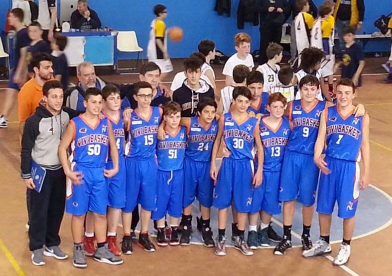 Trofeo Garbosi Under 13: Vivi Basket, una prestigiosa vittoria con la Robur et Fides Varese