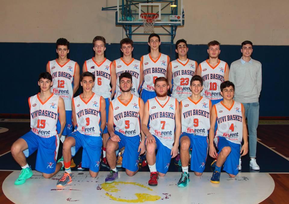 Under 17Eccellenza: Troppo forte Pistoia per Vivi Basket