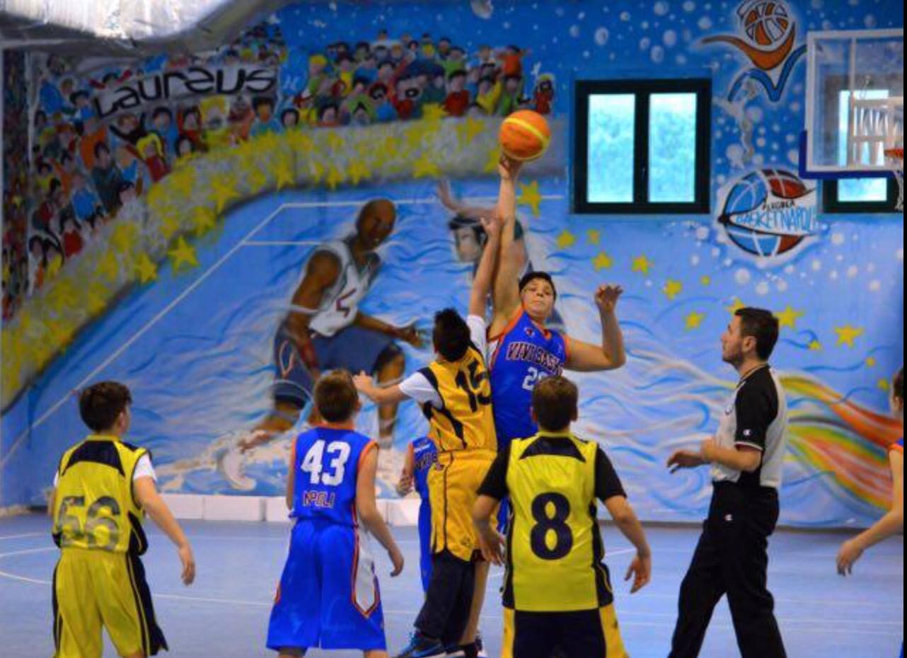 U13 Elite: Vivi Basket vince a Portici nei quarti di finale