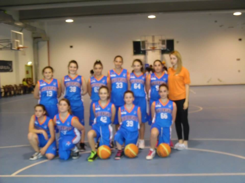 U13 Femminile: Vivi Basket fermata da Battipaglia