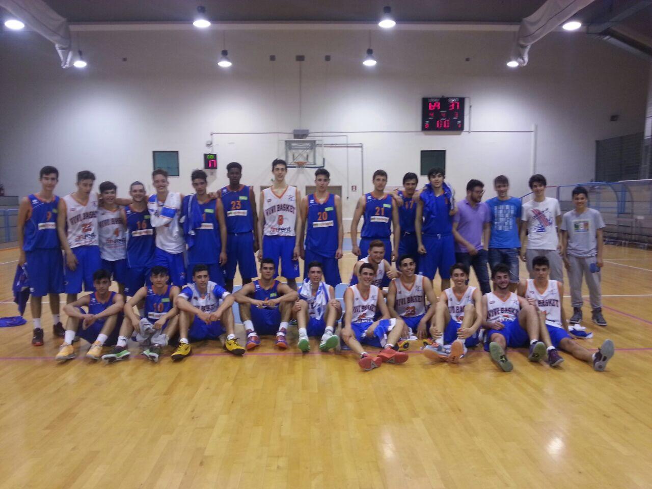 Under 17 eccellenza: Vivi Basket ed il Consorzio è agli spareggi