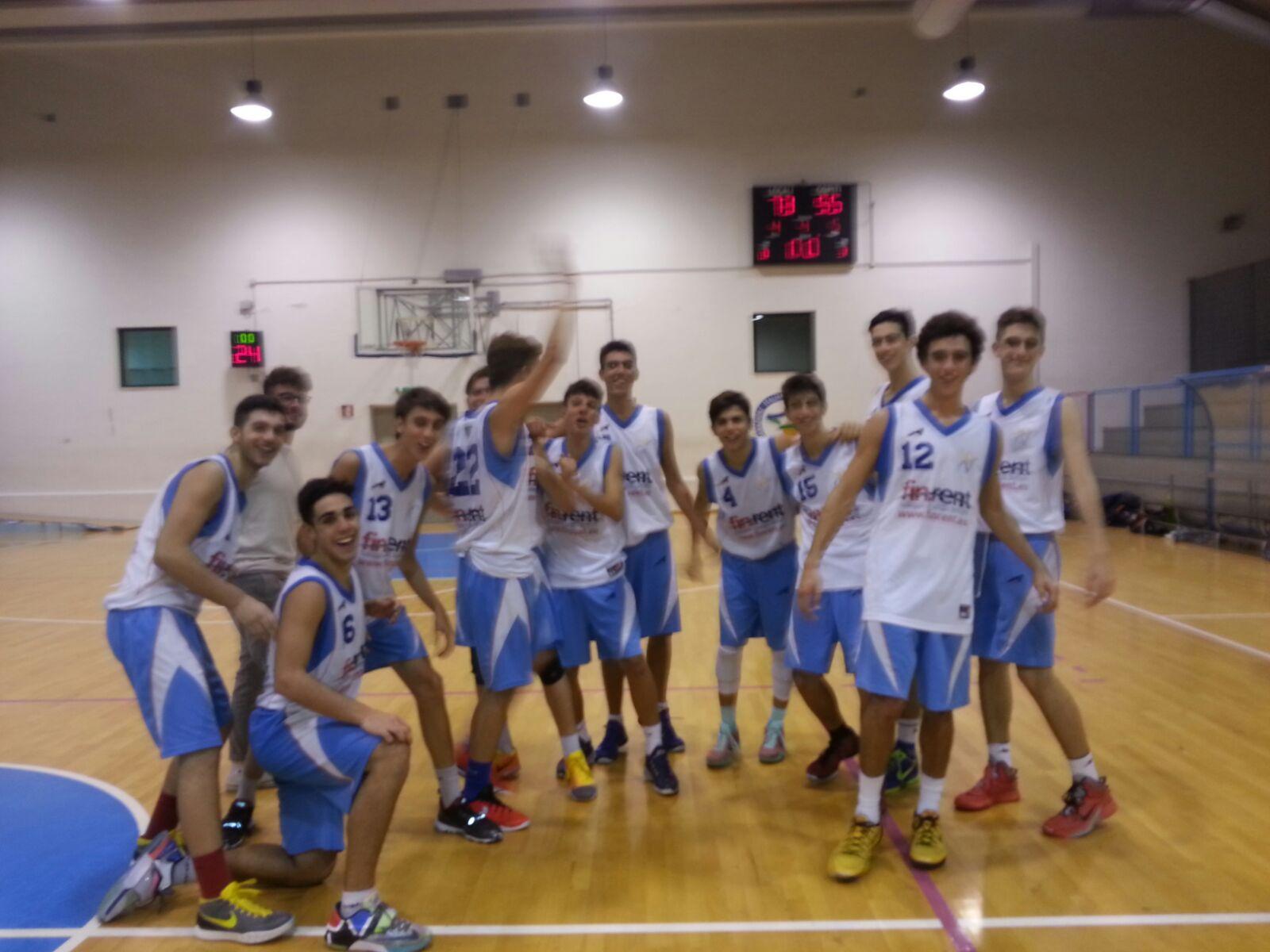 Under 18 Eccellenza: grande prestazione dei ragazzi Vivi Basket