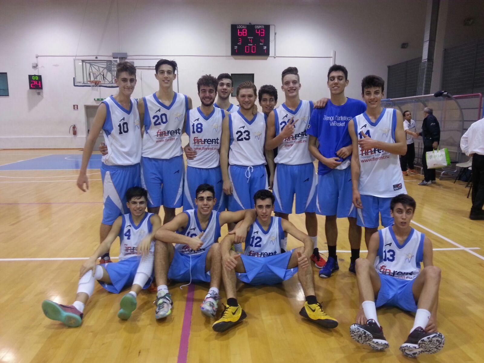 Under 18 Eccellenza: Vivi Basket vince il derby con la pasta Reggia Caserta