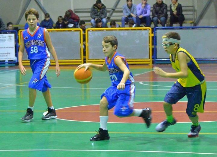 Under 13 Elite: Vivi Basket stop a Casapulla