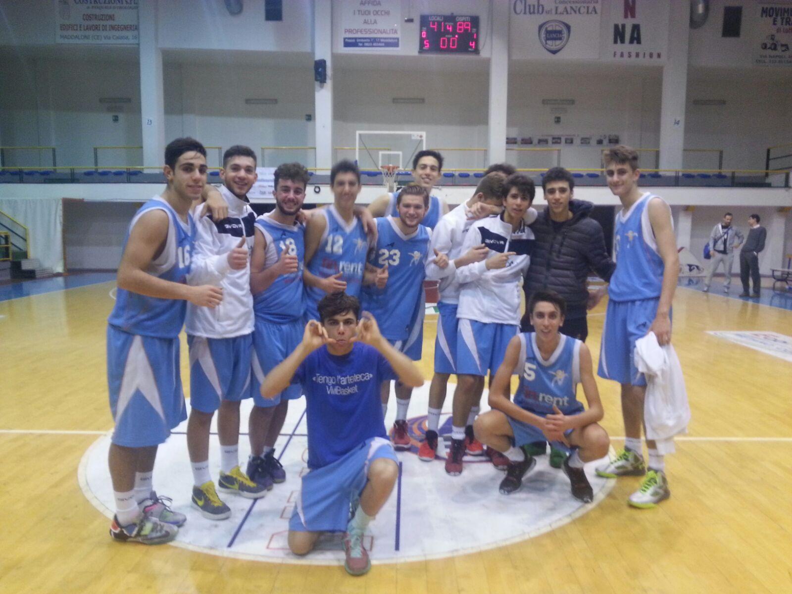 Under 18 Eccellenza: Vivi Basket vince con autorità a Maddaloni