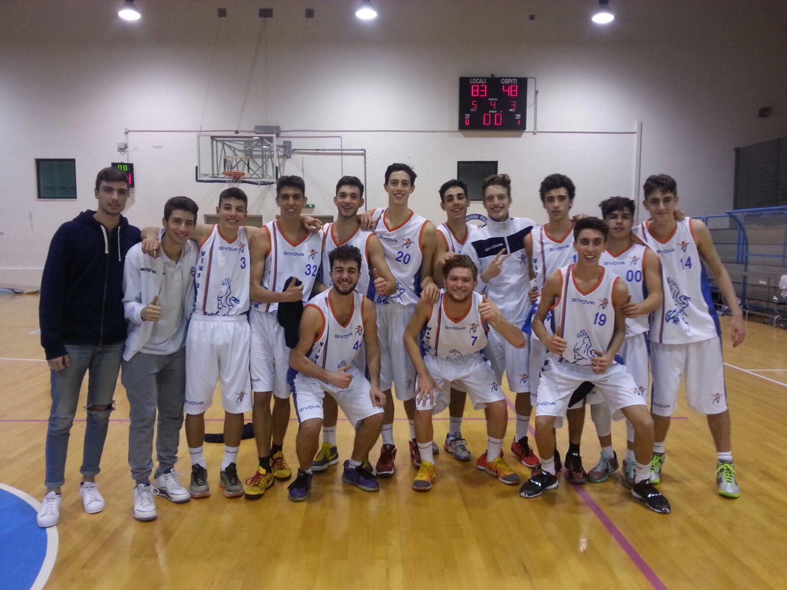 Under 18 Eccellenza: Vivi Basket travolge la SIDIGAS