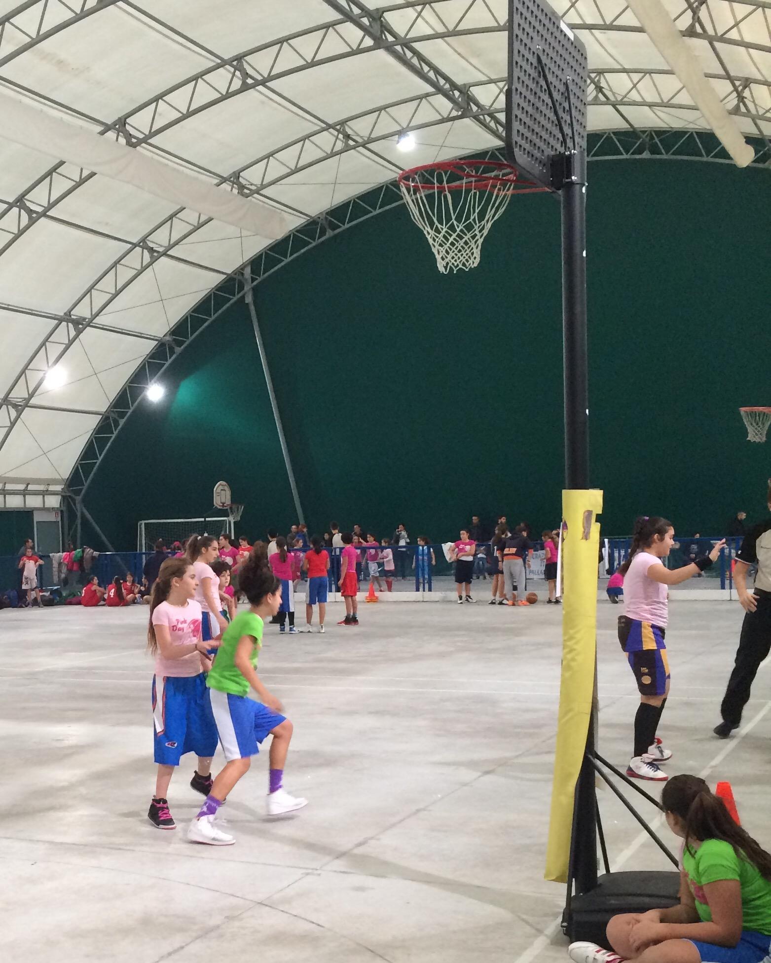 Torneo delle Province, Pink Day, festa del basket campano