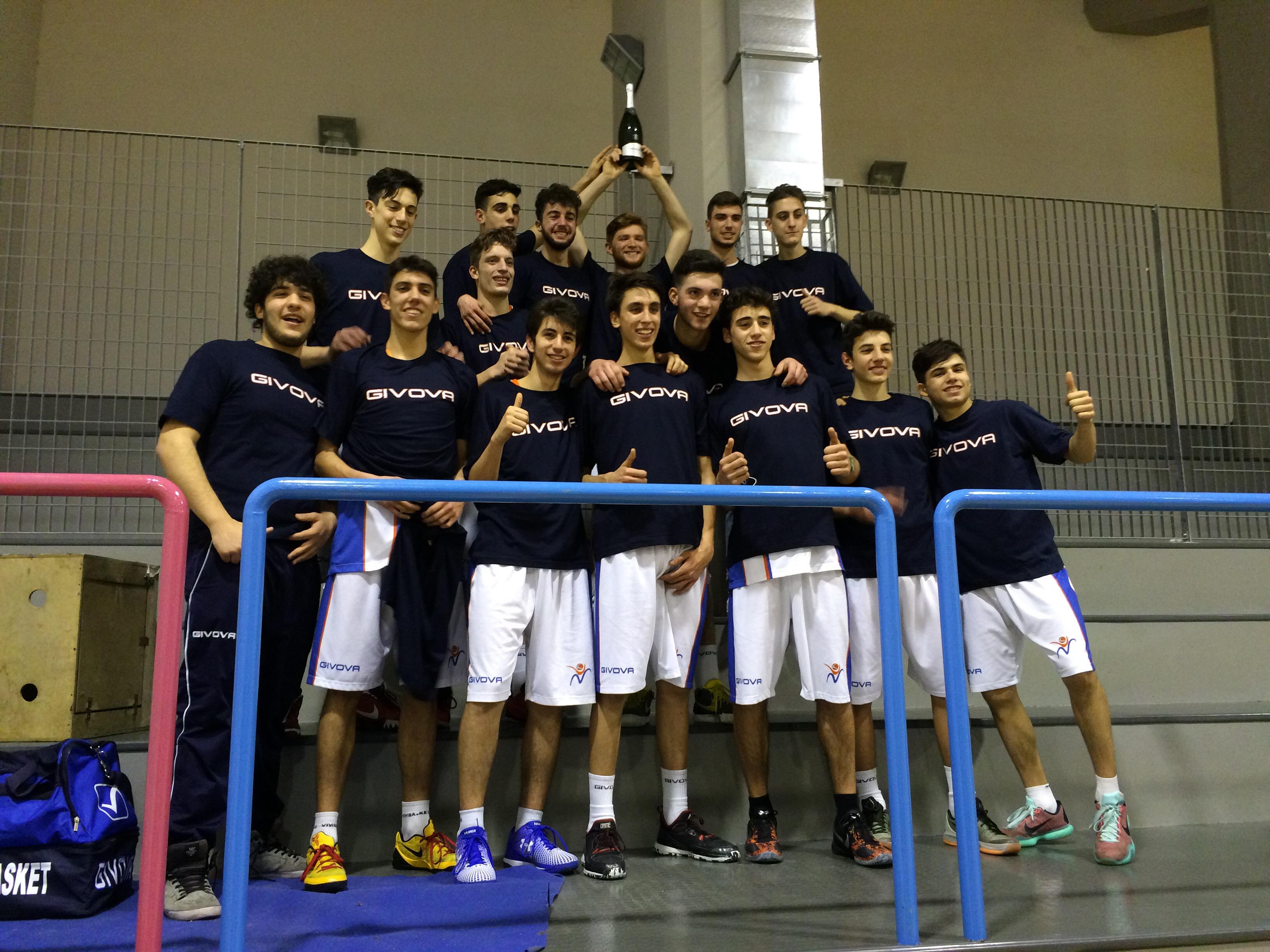 Under 18 Eccellenza: Vivi Basket Campione Regionale per il secondo anno consecutivo!