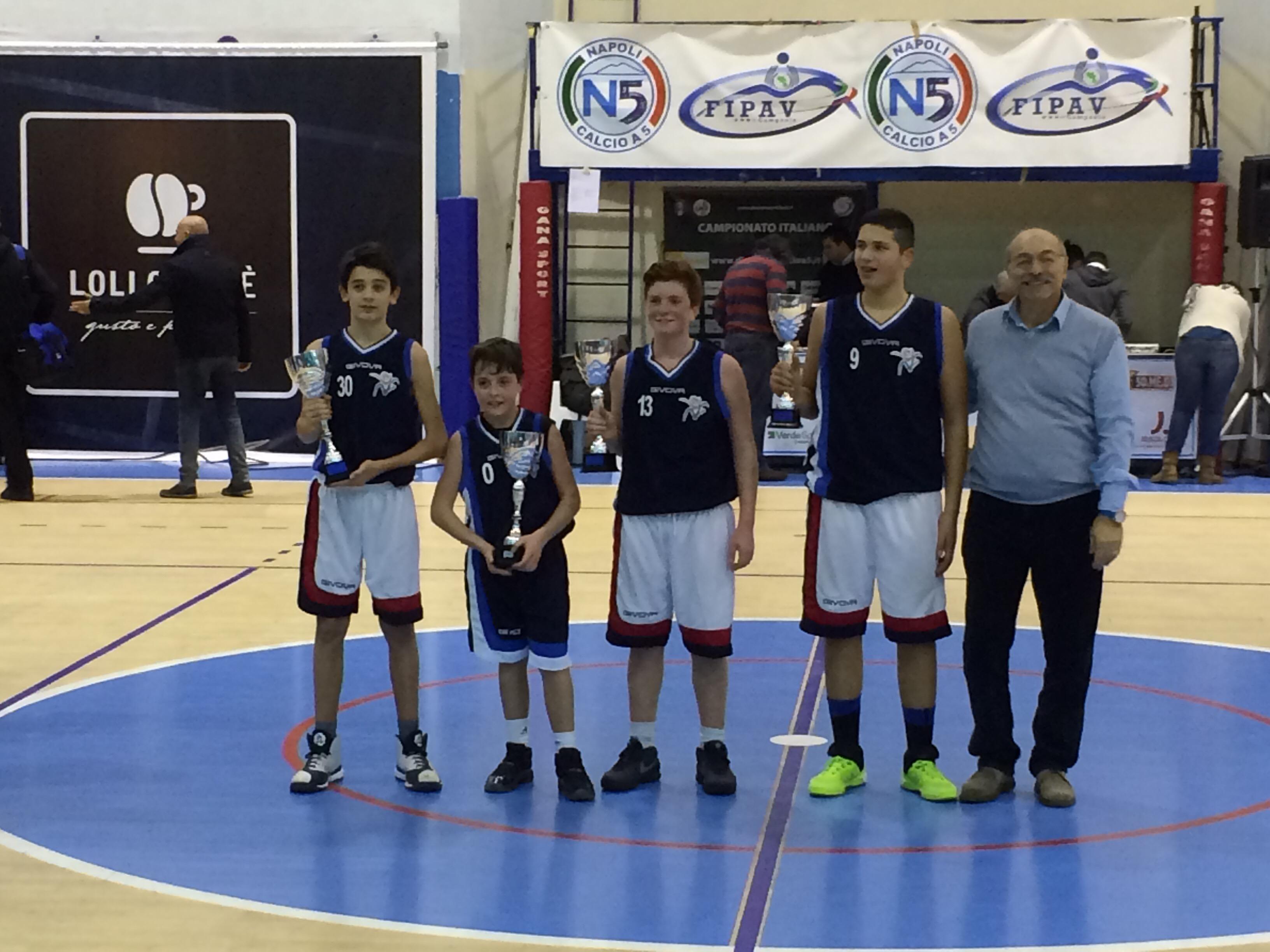 Under 13 Join The Game: Vivi Basket campione bis