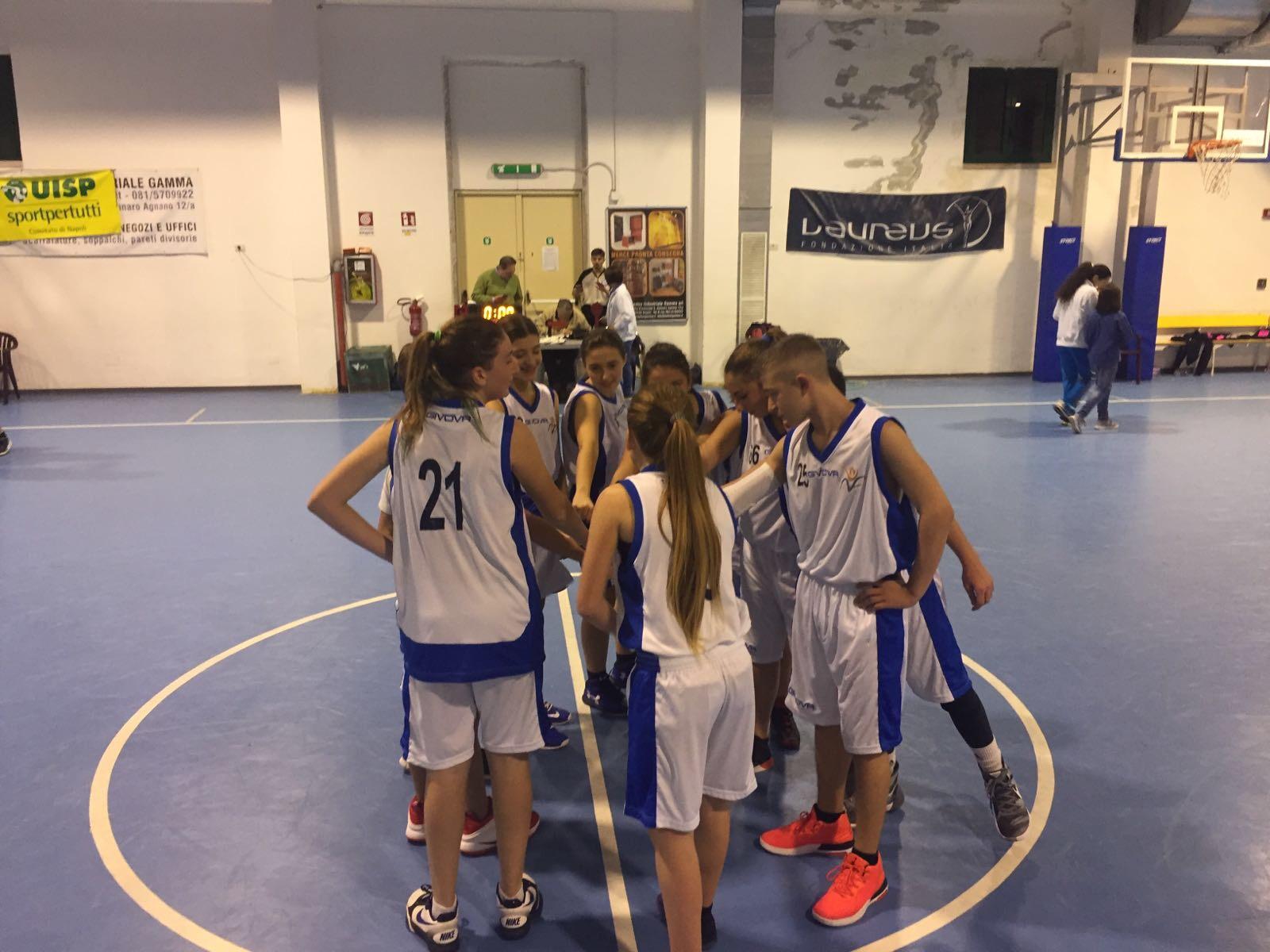 Under 13: Vivi Basket vince il derby del Polifunzionale