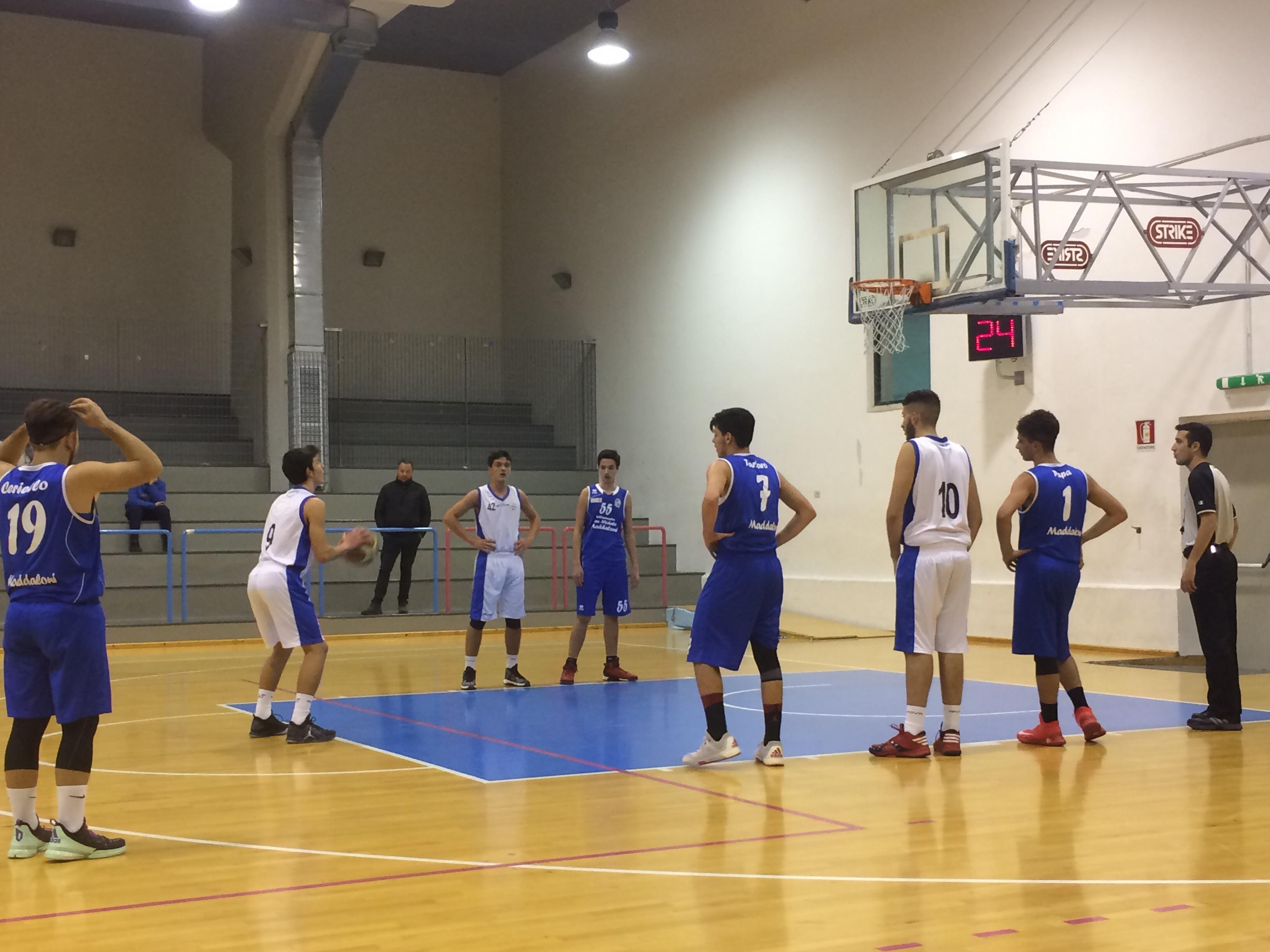 U18 Ecc: Vivi Basket forza 10