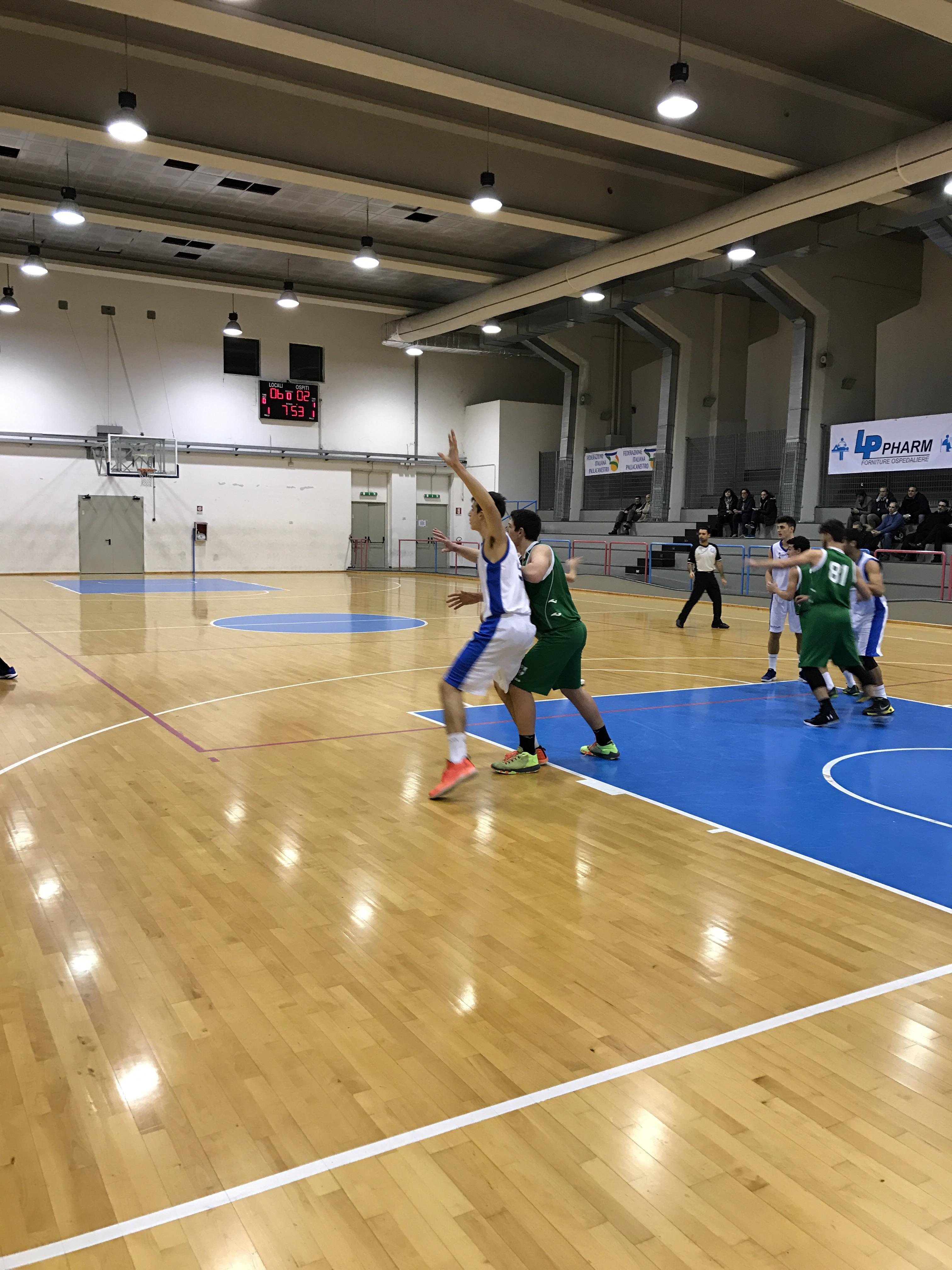 Under 18 Eccellenza: Vivi Basket travolgente