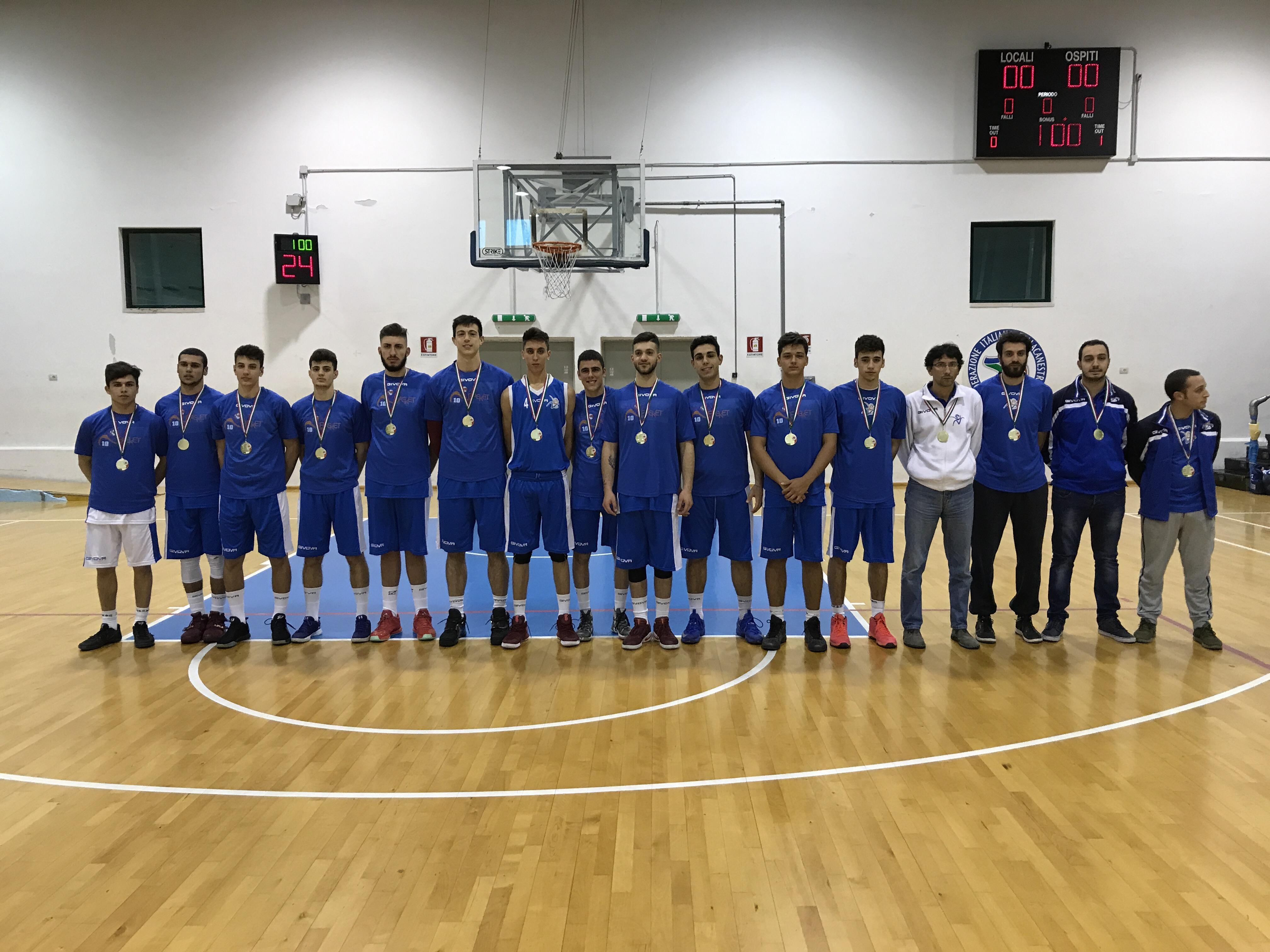 Under 18 Eccellenza: Vivi Basket si sblocca nell'ultimo quarto e vince di 29 punti