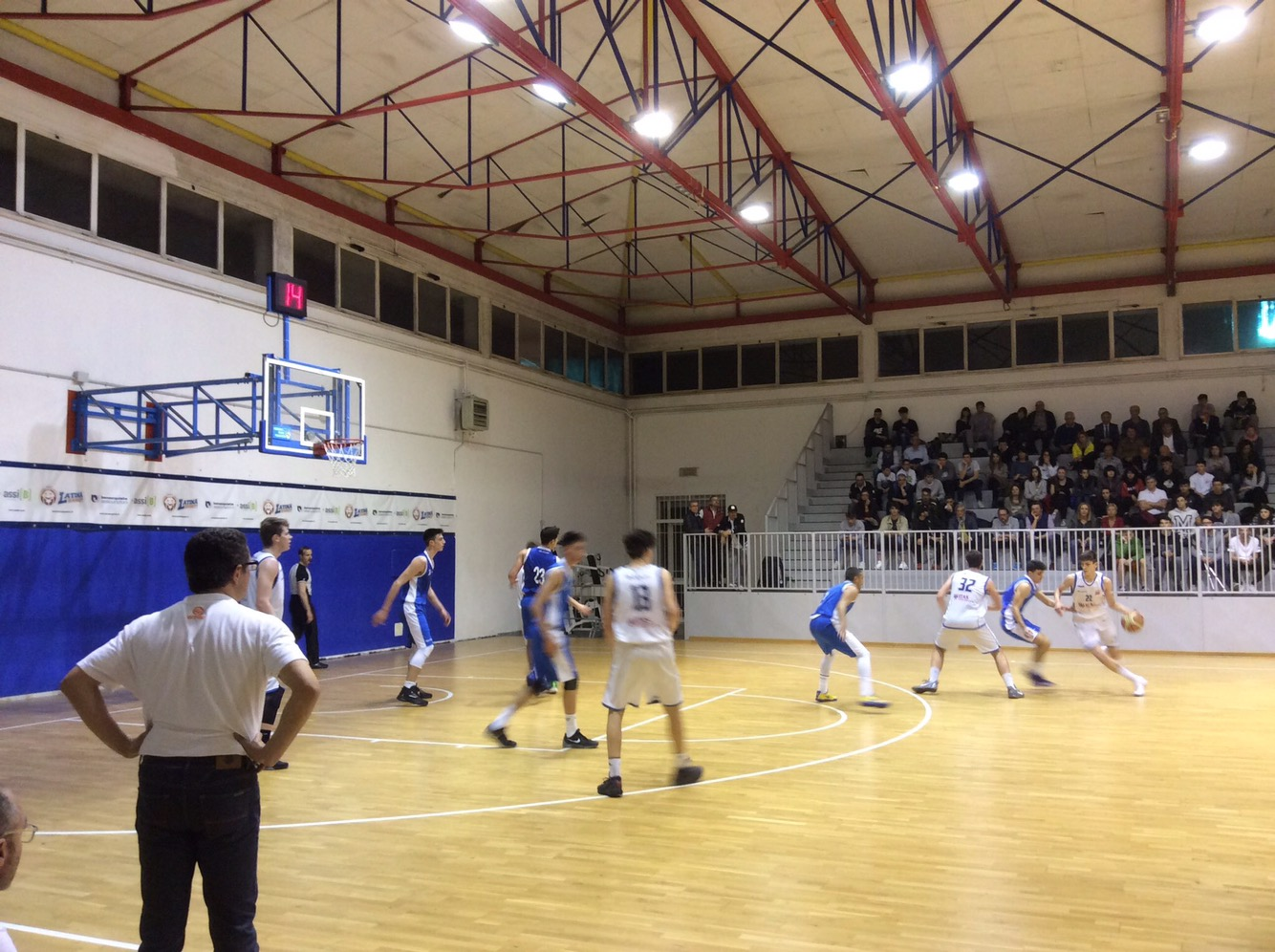 Under 18 Eccellenza: Vivi Basket vince a Latina