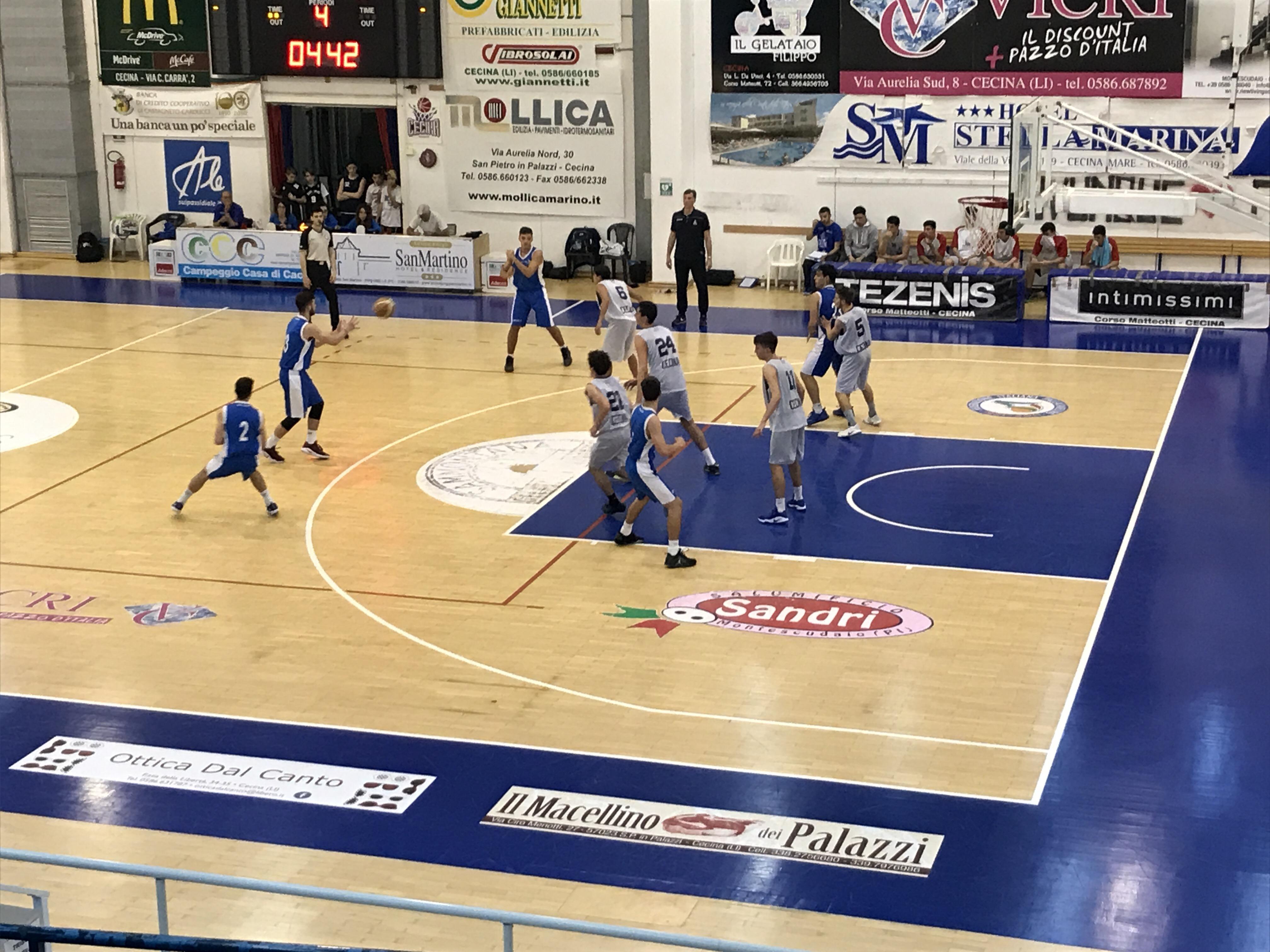 Under 18 Eccellenza: Vivi Basket scappa via nel secondo tempo