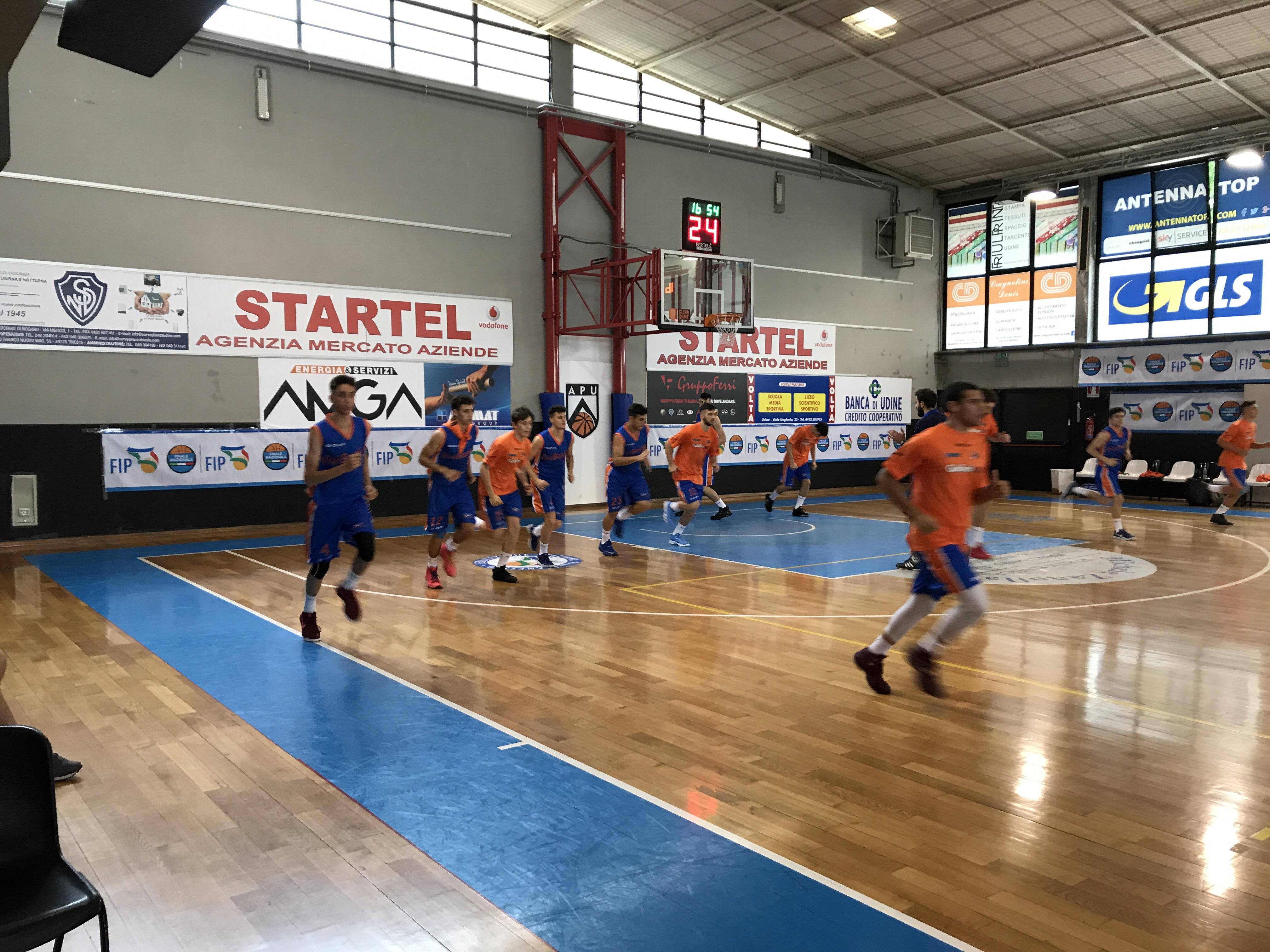 Finali Udine: i tabellini della seconda giornata