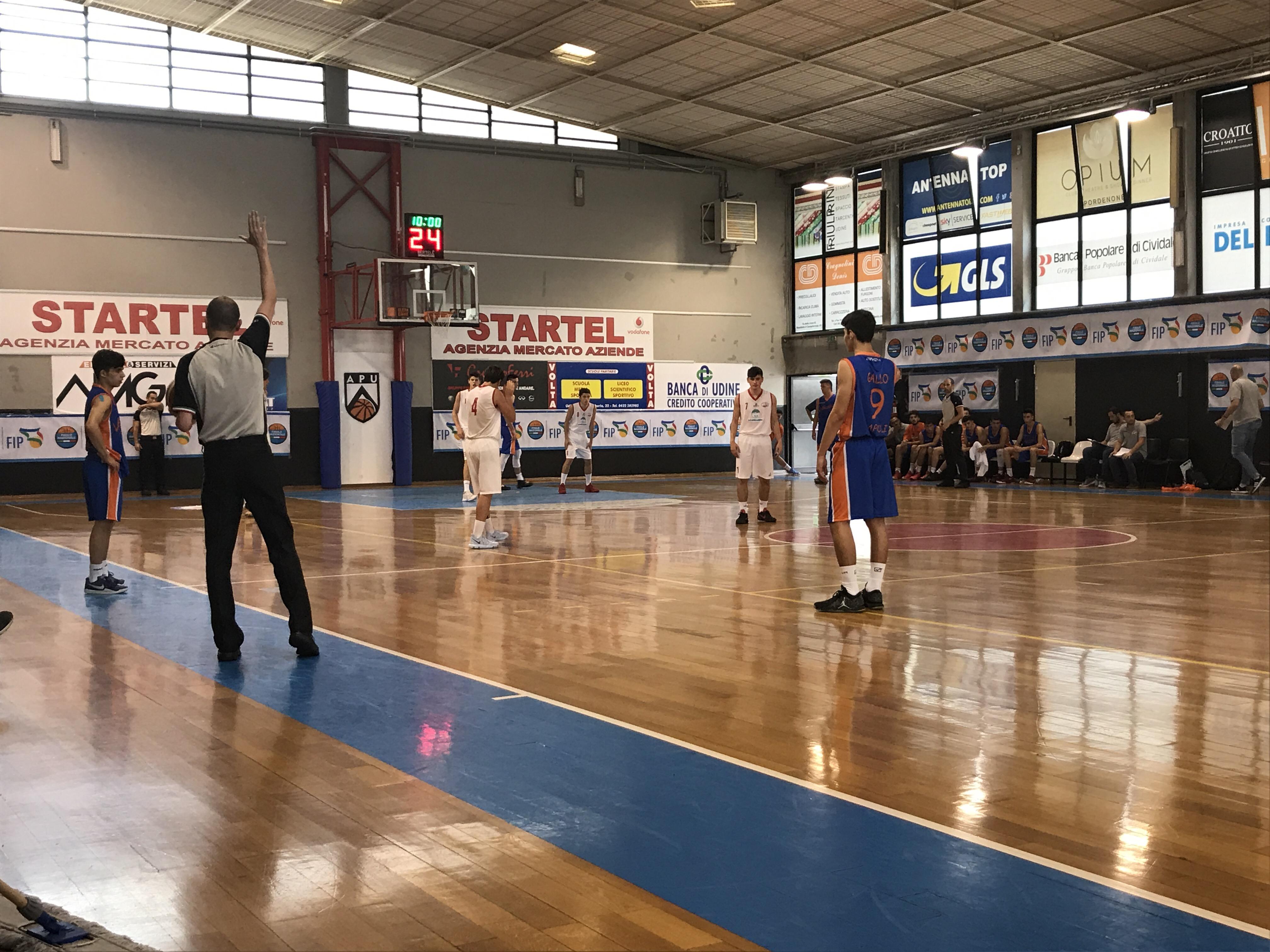 Vivi Basket – Lucca lo scout del primo tempo
