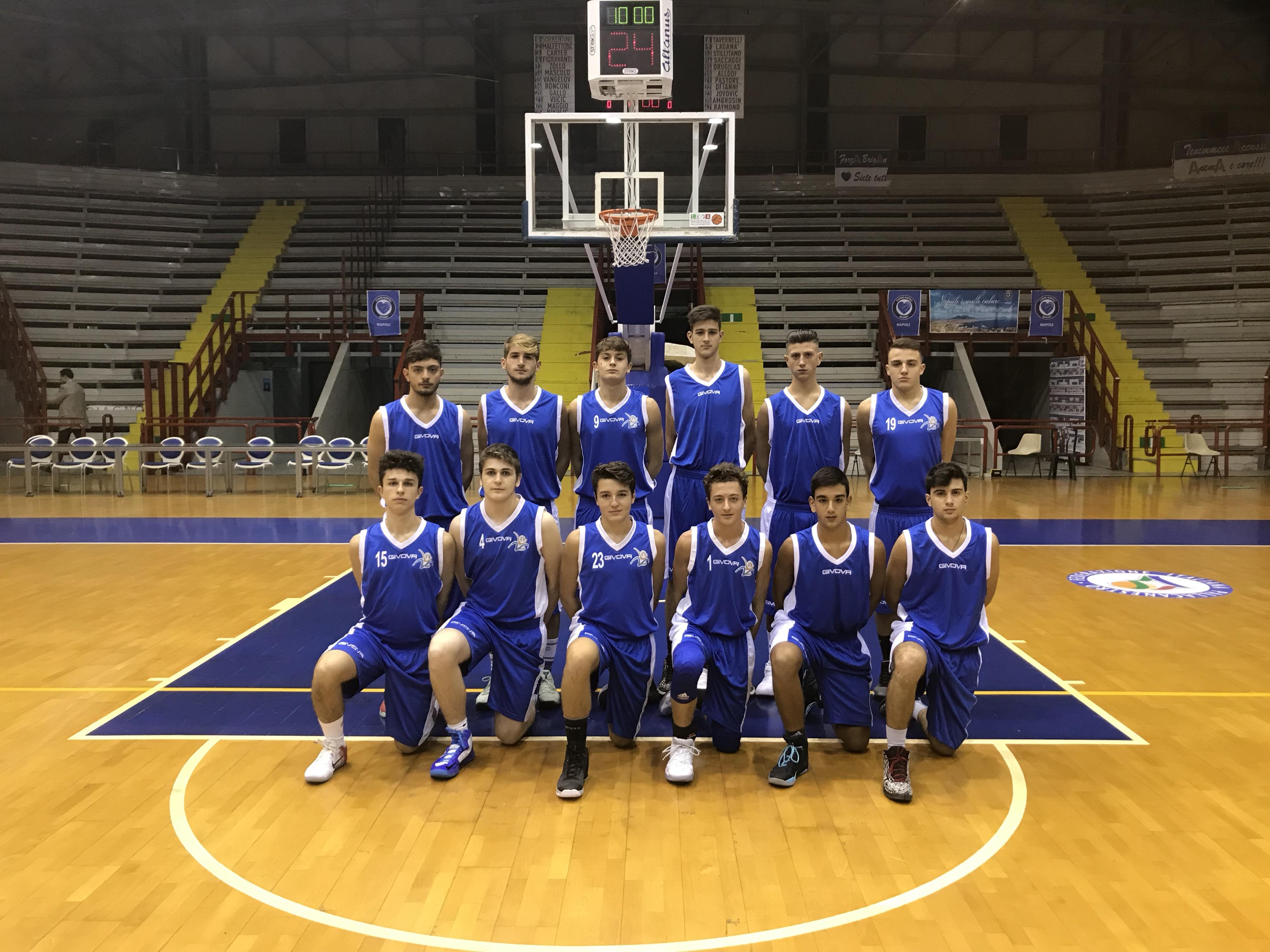 U16 Ecc: Vivi Basket passa a Pozzuoli