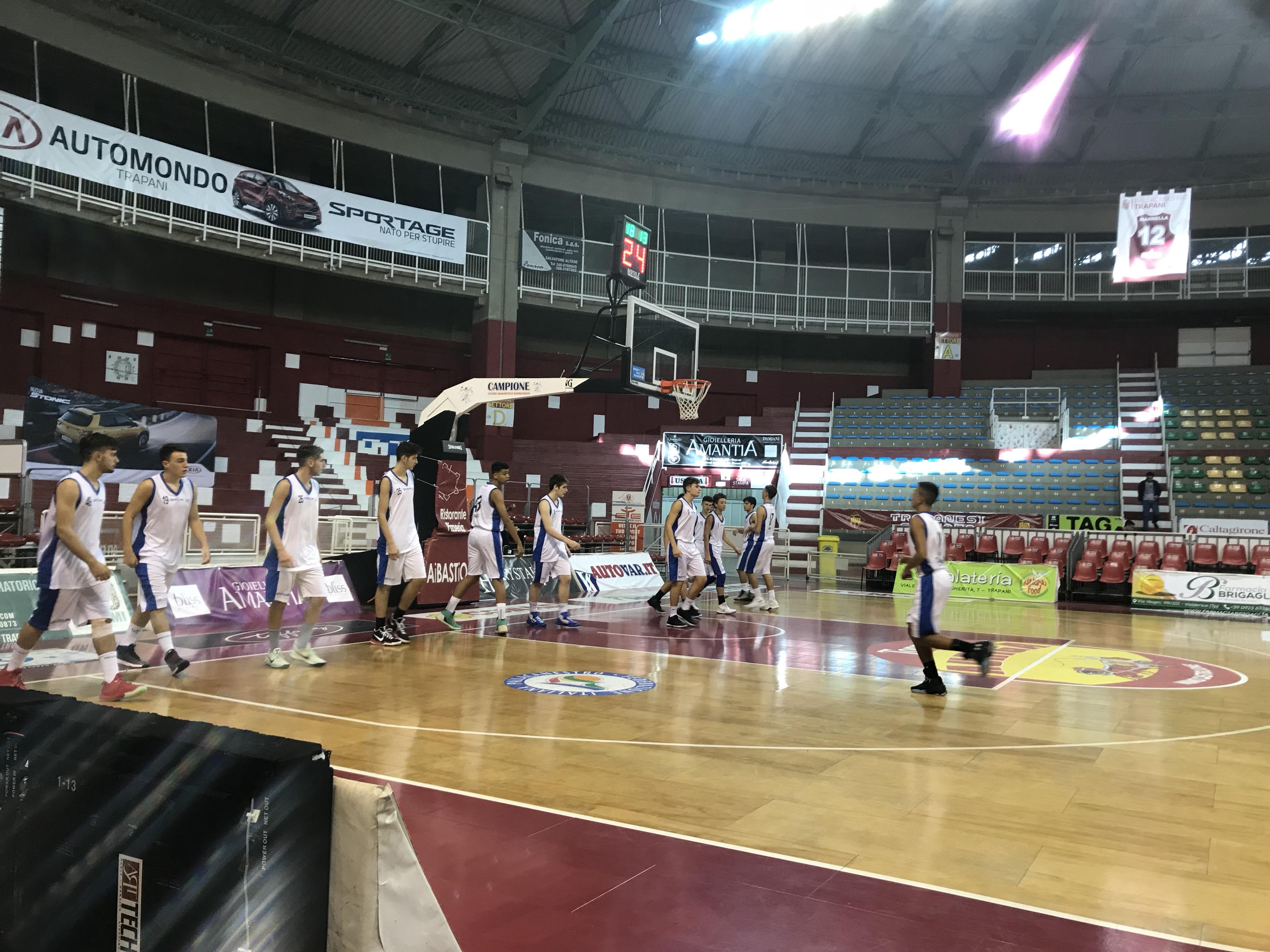 Under 16 Eccellenza – Torneo di Trapani: Vivi Basket cede alla PMS