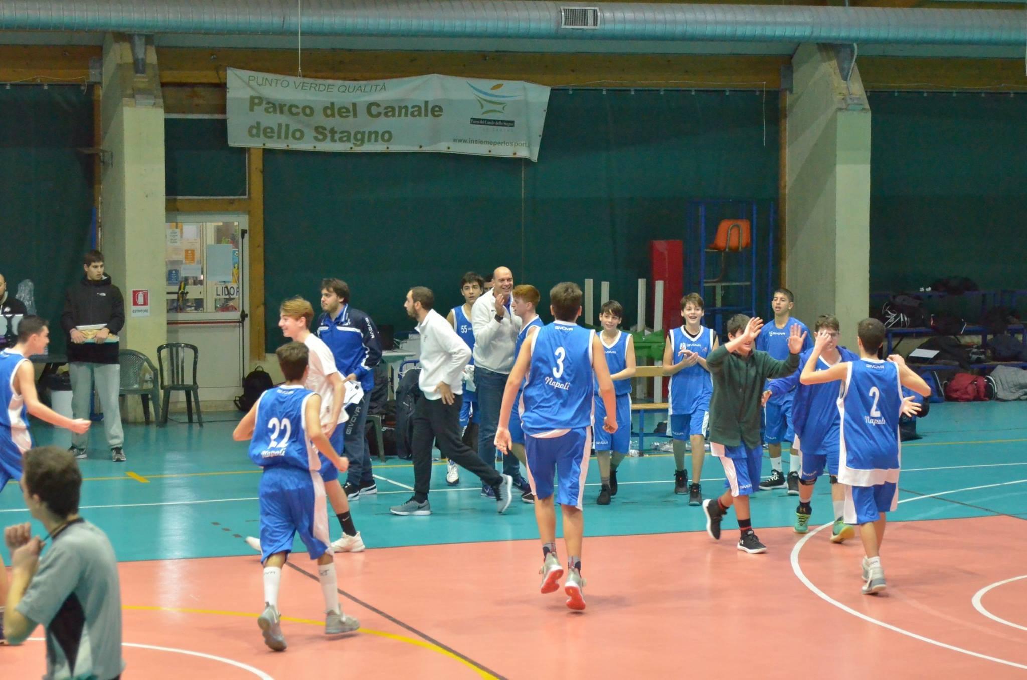 U15ecc: Vivi Basket cede nel secondo tempo