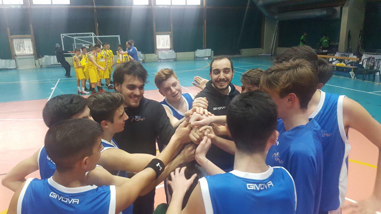 U15Ecc-Torneo In.TO Rome: esordio vincente per Vivi Basket