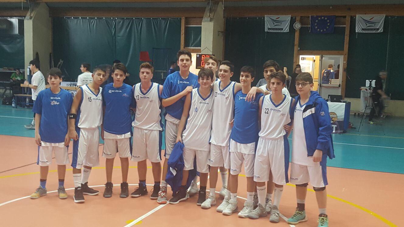 U15Ecc-Torneo In.TO Rome: ottima prova con l'Eurobasket