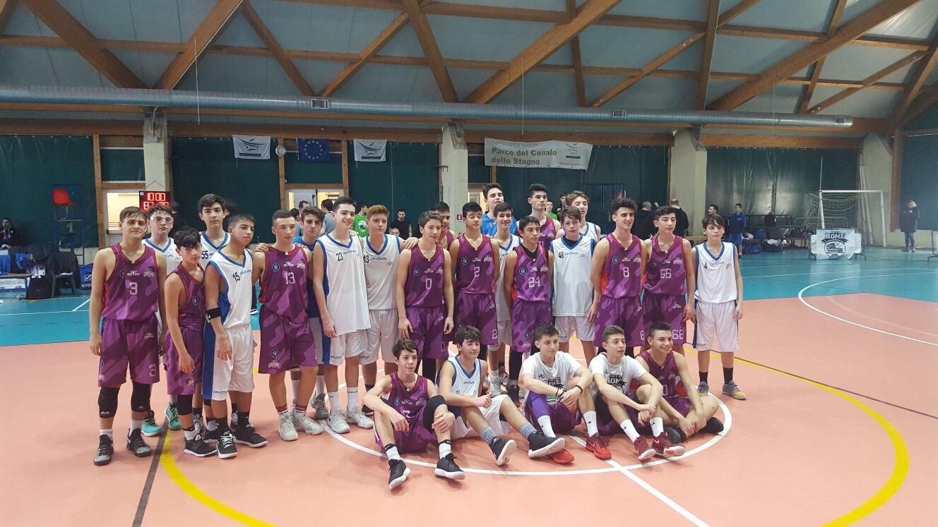 U15Ecc-Torneo In.TO Rome: Vivi Basket al quarto posto