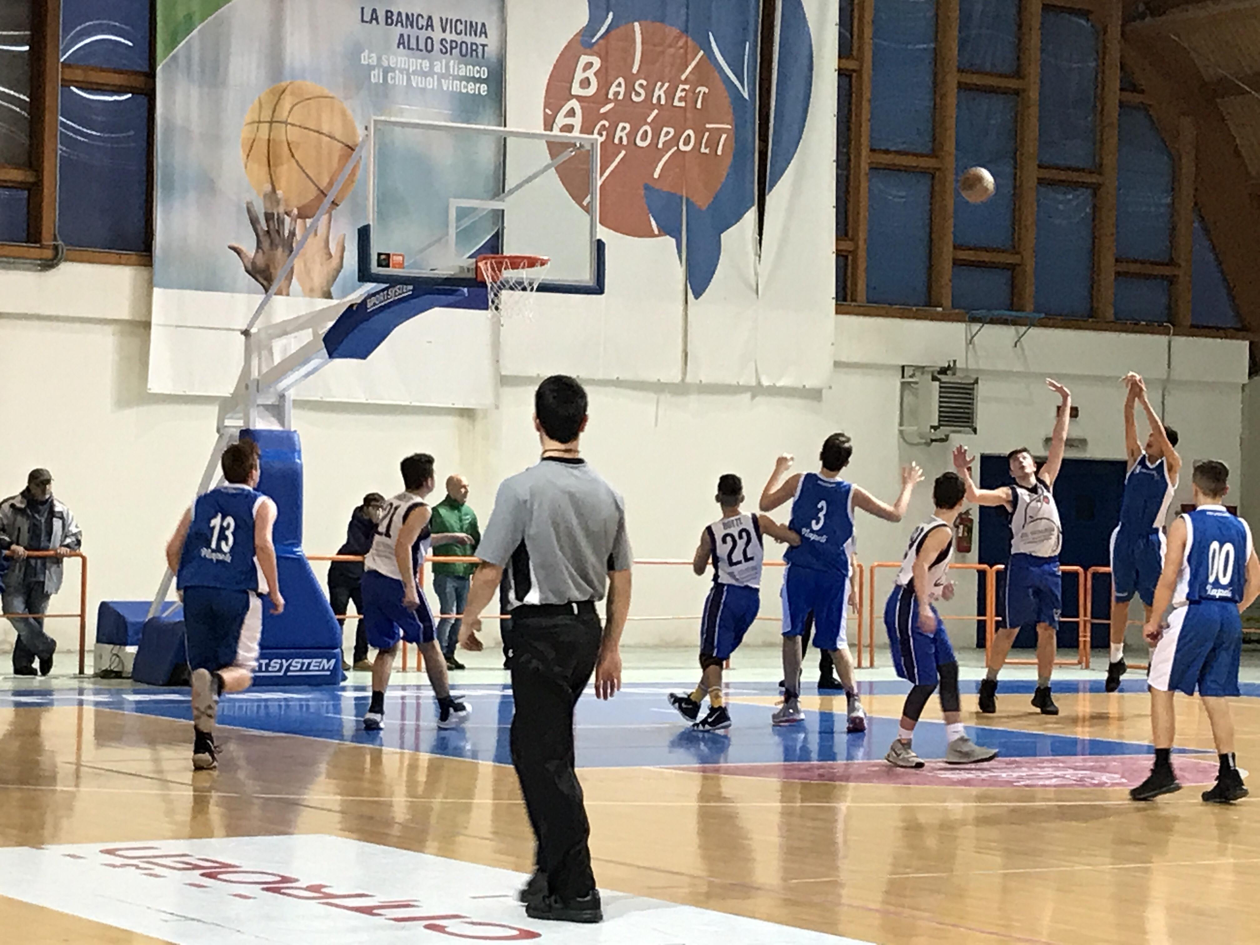 U15Ecc: Vivi Basket segnali di crescita