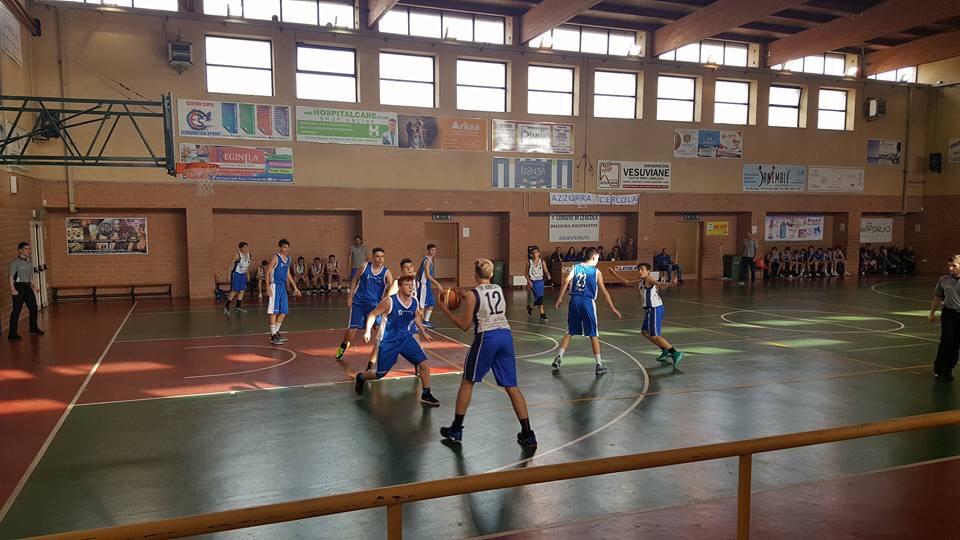 U15ecc: Vivi Basket perde con Agropoli