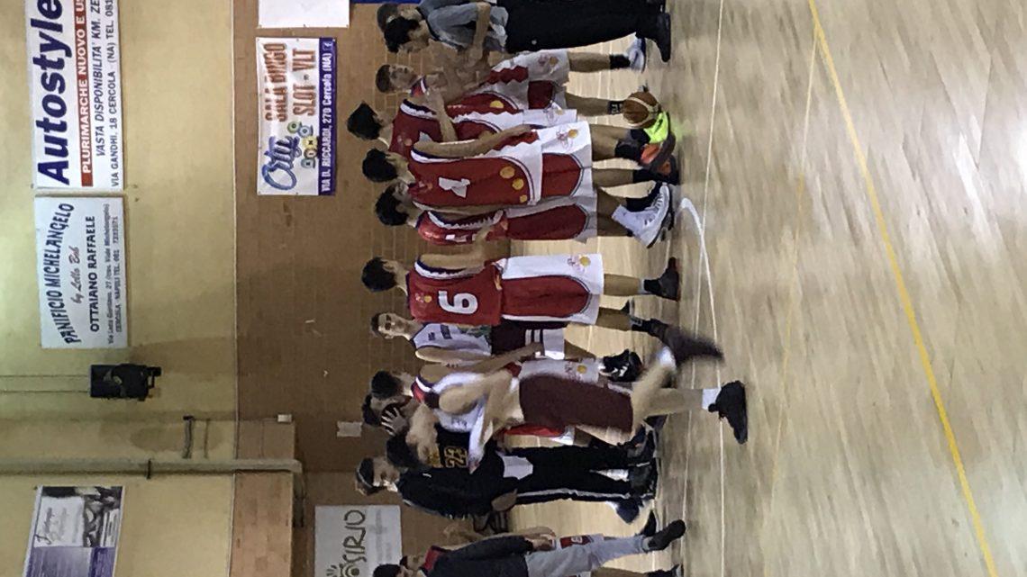 U16ecc: bella vittoria di Cercola/Vivi Basket con Maddaloni