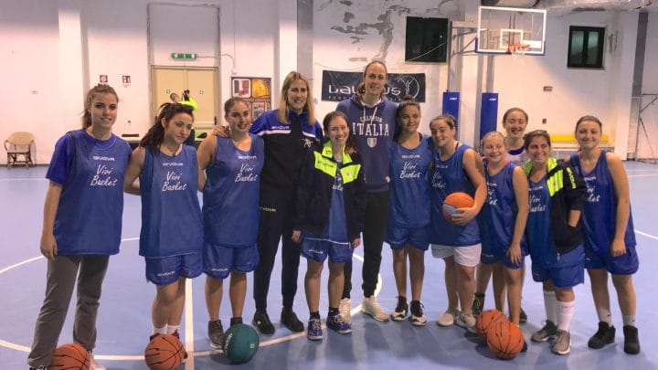 Vivi Basket, Laureus Italia e Kathrin Ress