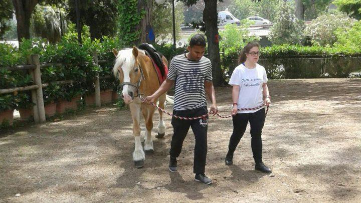 Jamme: la grande bellezza, a cavallo con Tutti a Scuola